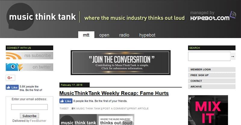 Guest posting for music websites