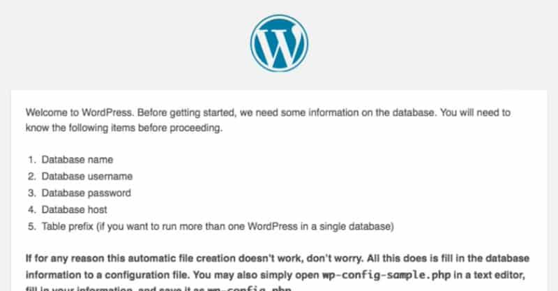 Set up the core of your website with WordPress