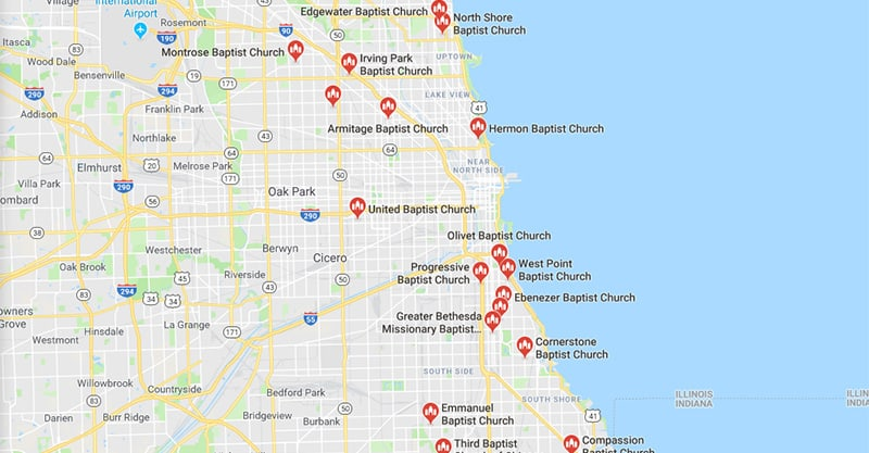 Local SEO For Churches & Places Of Worship