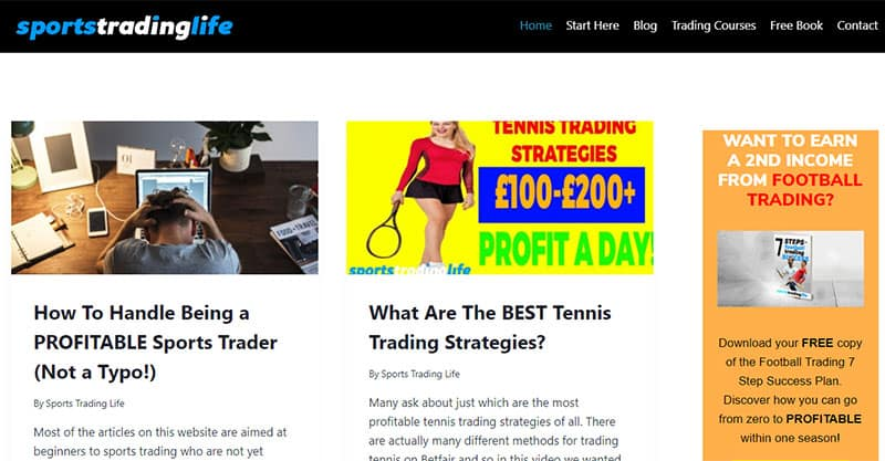 Sports Trading Life Website Speed Case Study
